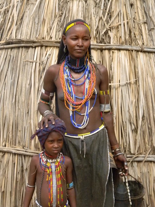 Arbore Mother and Child