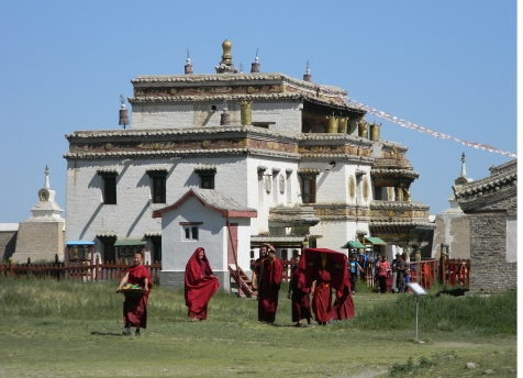 The Monastery Complex at Erdene